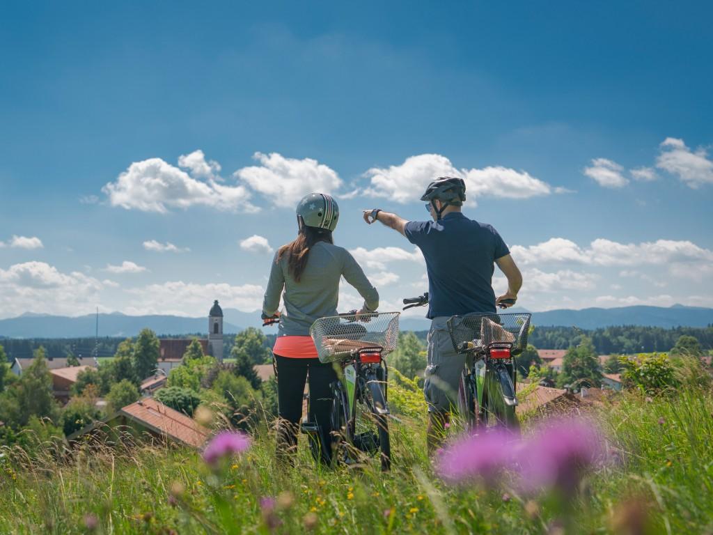 Radfahren Miesbacher Oberland