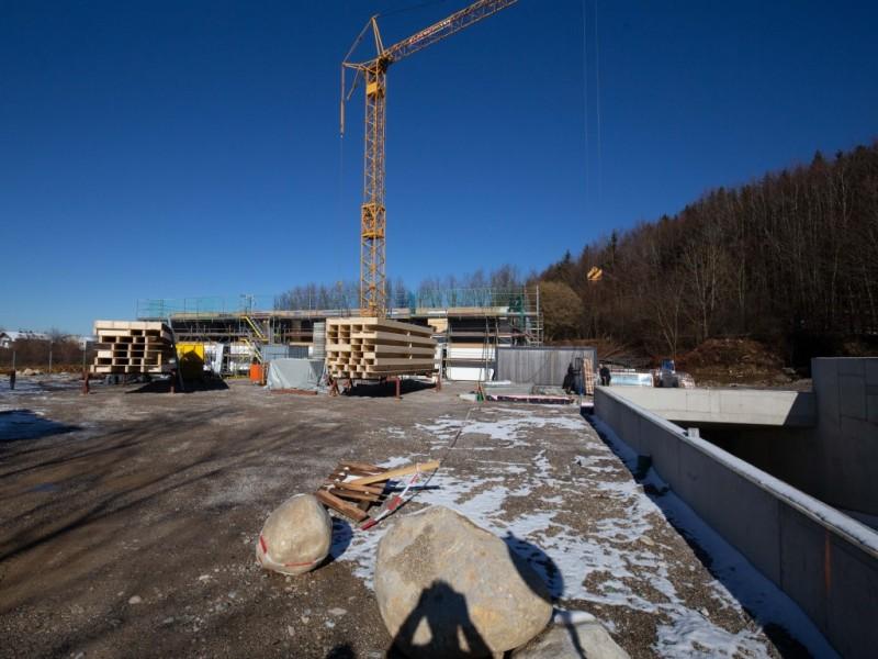 Bauphase Leo Apartments Miesbach