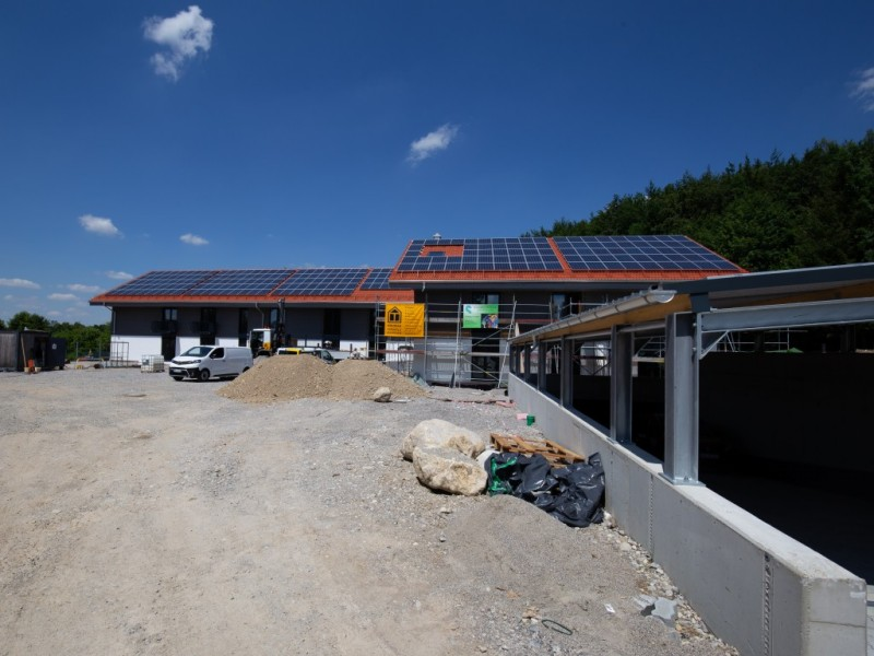 Bauphase Leo Miesbach