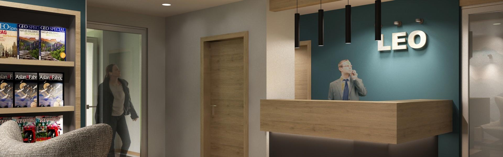 Lobby Leo Apartments- Boardinghouse Miesbach bei München